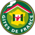 Logo of french lodges wich the natural campsite Parc du Charouzech is affiliated to