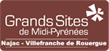 Logo of the Big Sites of Midi-Pyrénées